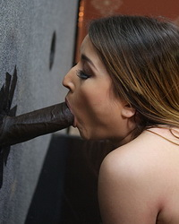 Bliss Dulce Taking Black Cock