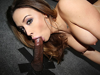 Black Cock Chanel Preston