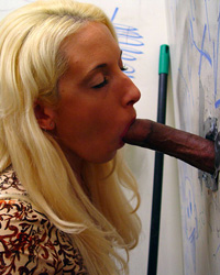 Fiona - Fiona Cheeks blows black eats cum in gloryhole