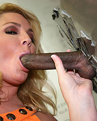 Flower Tucci Riding Black Cock