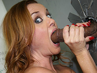 Black Cock Blowjobs Janet Mason 2