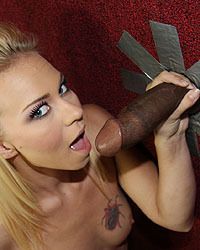Melanie Jayne Black Cock Surprise