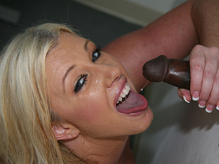 Zoey Andrews Superior Black Cock